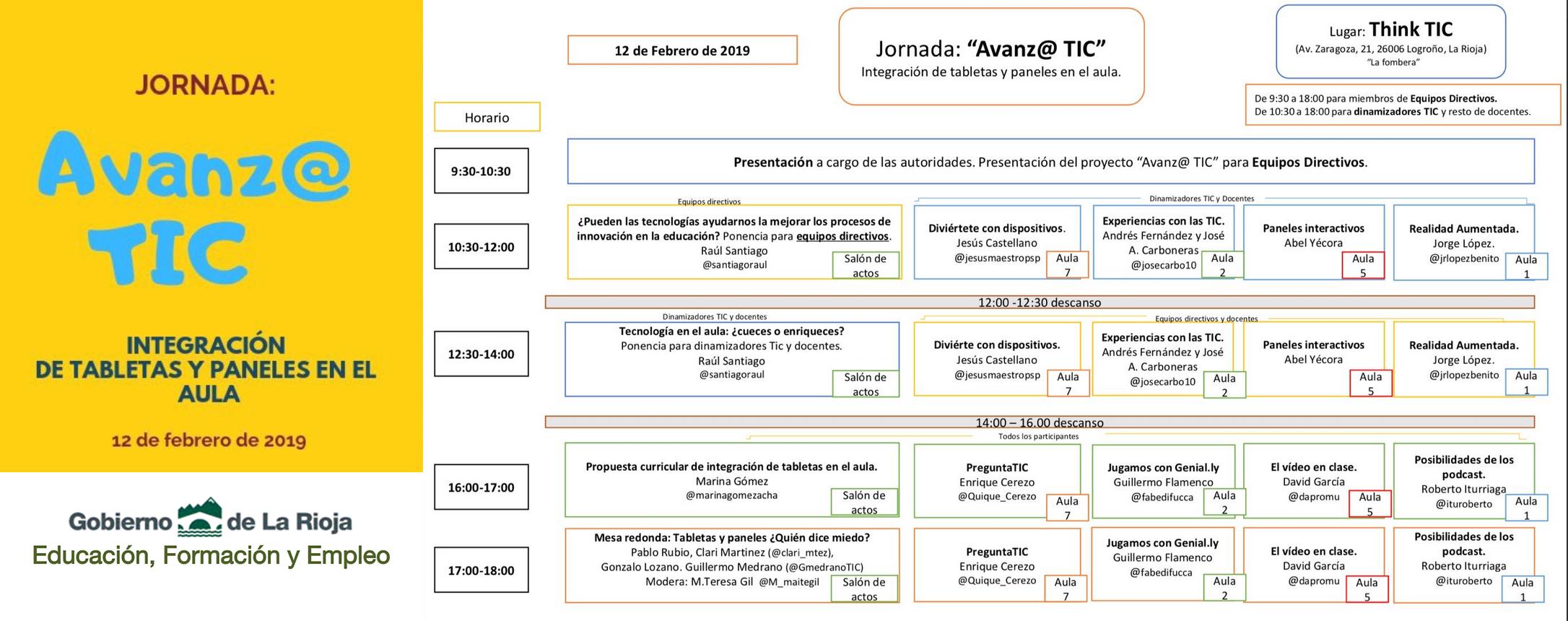 Agenda de Anvaz@ con TIC