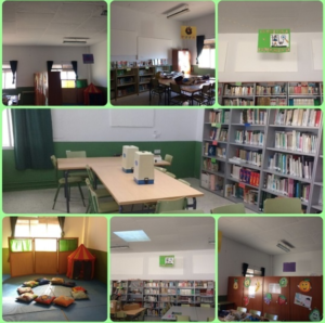 Los espacios de aprendizaje de la biblioteca