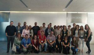 Foto de los embajadores en el tercer encuentro
