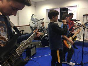 Grupo de música de rock