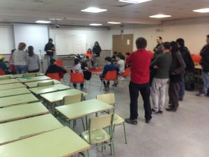 Actuación grupo de alumnos