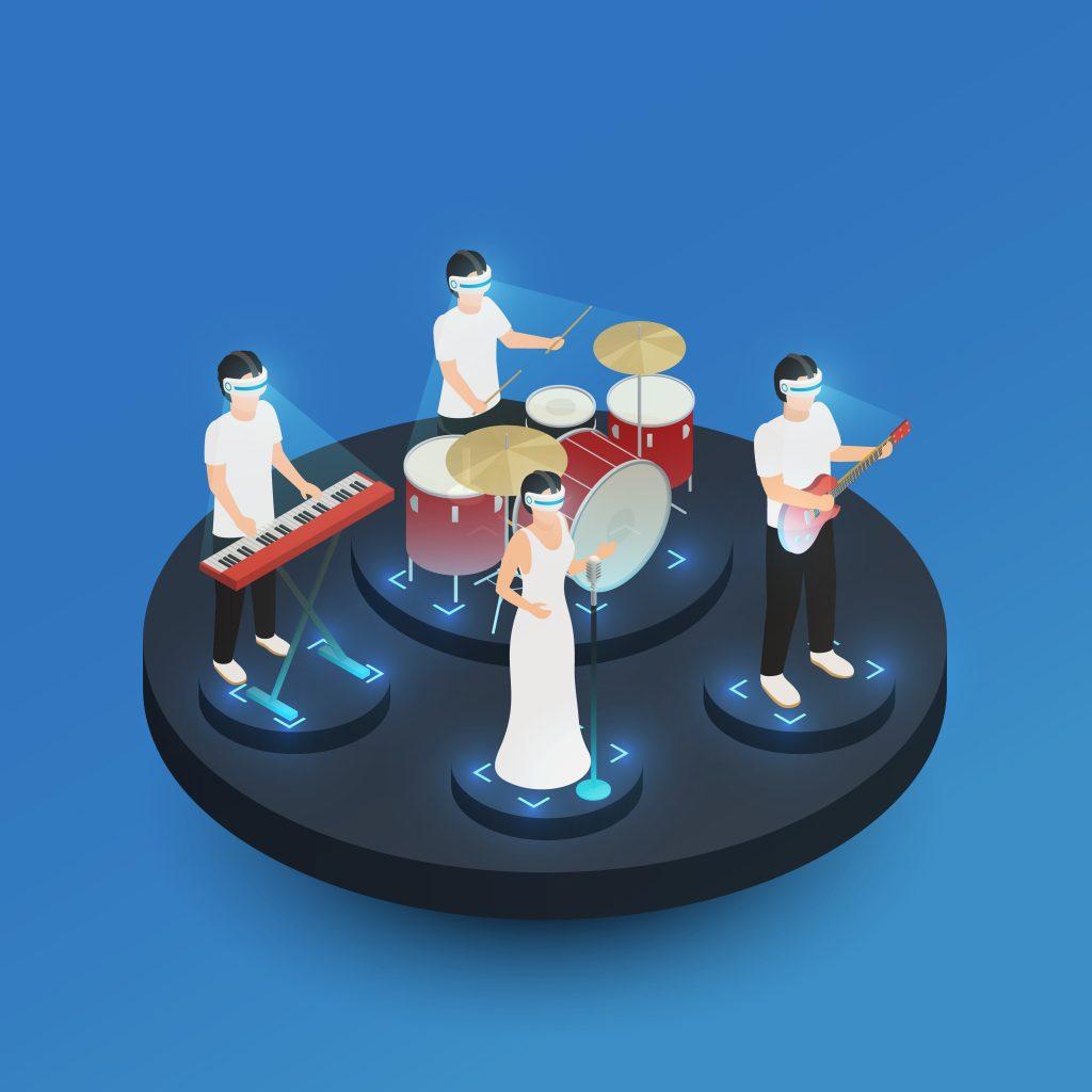 Grupo de música del futuro