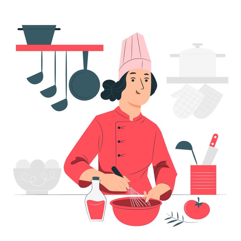 Imagen de un cocinero