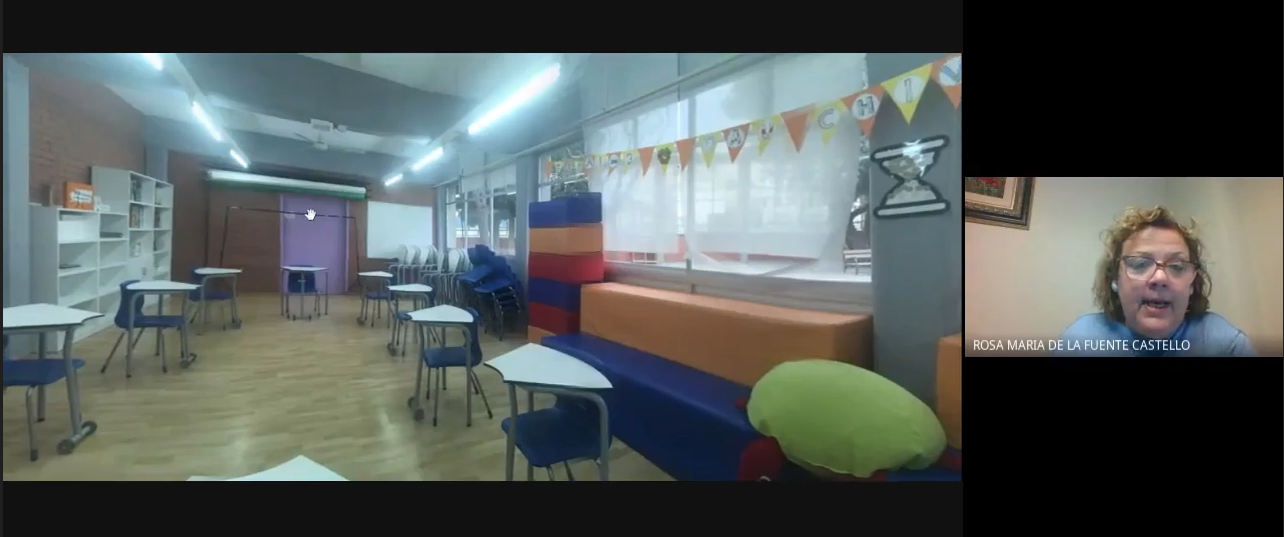 Intervención de Rosa M. Fuentes, directora de la Escola Espai 3, de Sant Joan Despí (Barcelona)